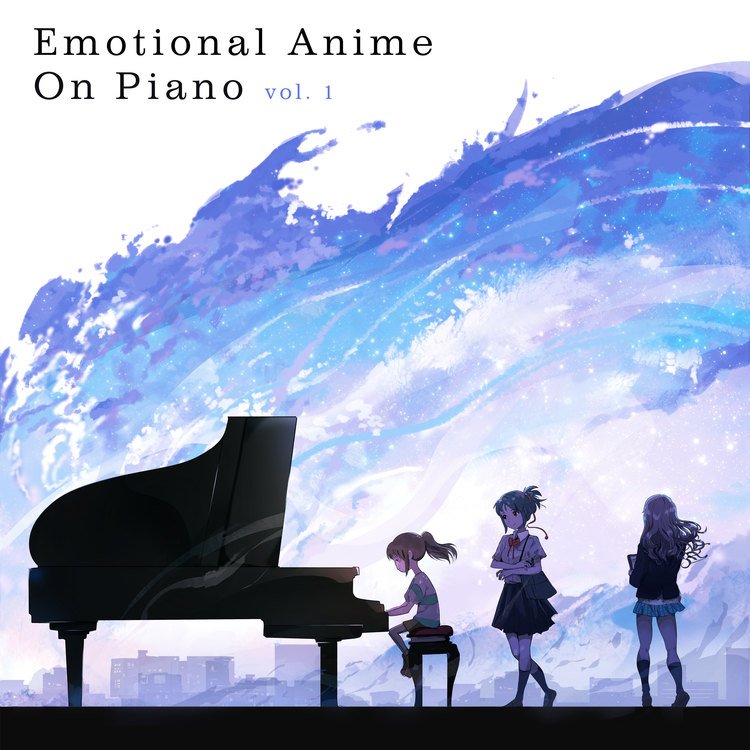 Emotional Anime on Piano